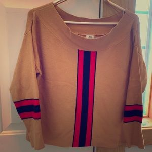 River Island off shoulder sweater size gorgeous!